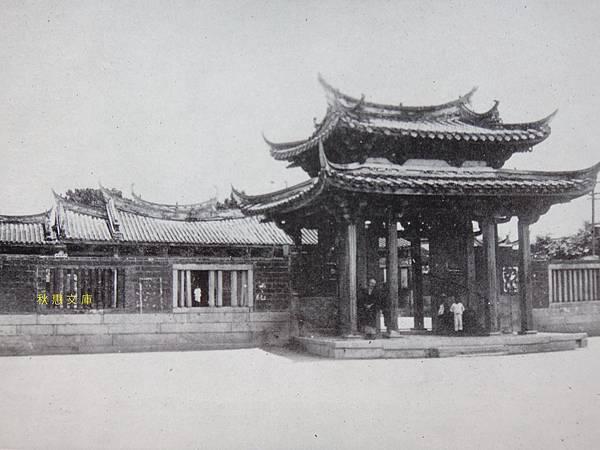 日本時代(約1930)鹿港龍山寺