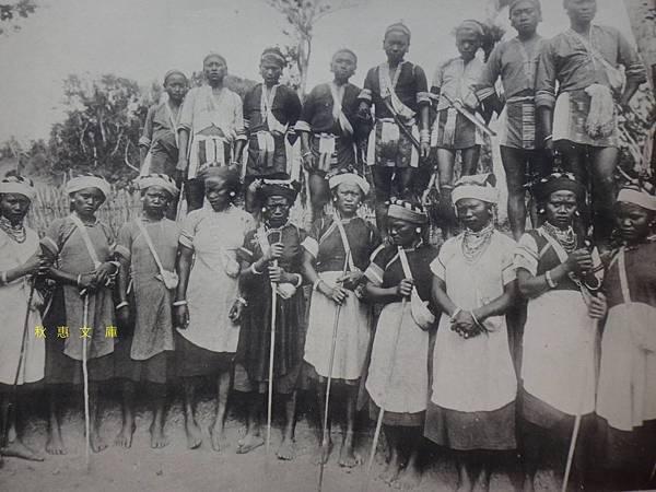 明治37年(1904)恒春牡丹社的原住民
