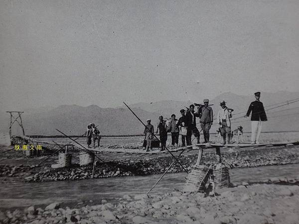 約1930年代卑南溪吊橋
