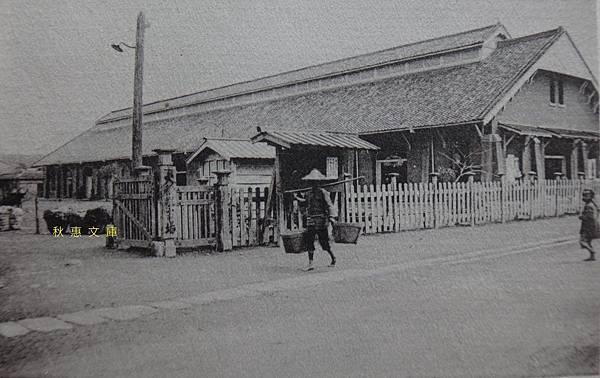 1920年代台北大稻埕市場