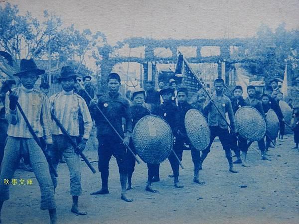 日本時代宋江陣行列