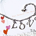 LOVE 字母手鍊