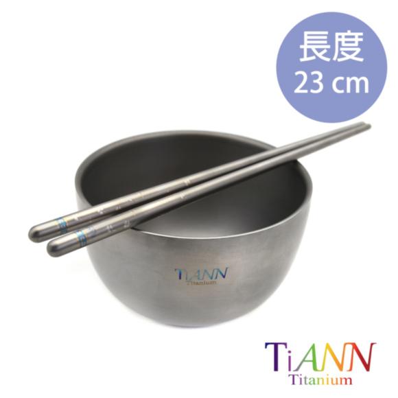 鈦安TiANN純鈦筷子_幸運草_04.JPG
