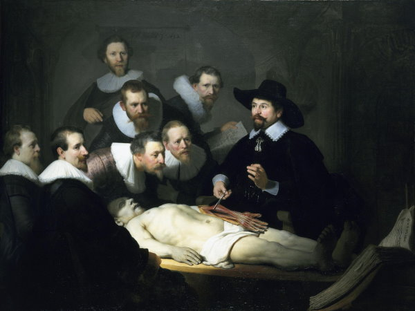 2013 Mama 010 Rembrandt, The Anatomy Lesson of Dr Nicolaes Tulp (1631)