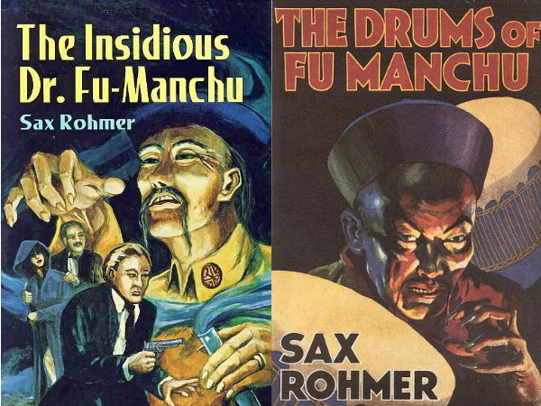 2013 Iron Man 3 017 Fu manchu novel covers