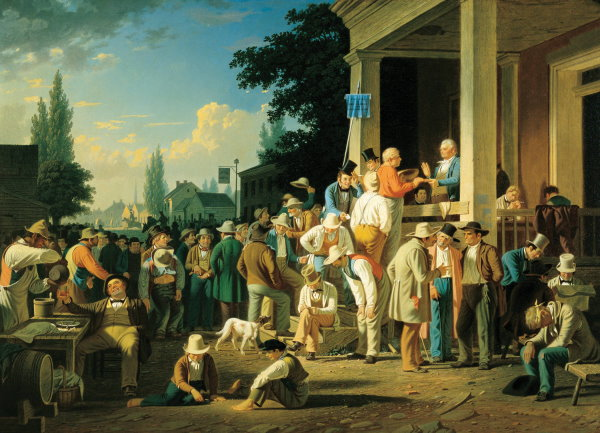 2013 The Great Gastby 024 1852 George Caleb Bingham, The County Election