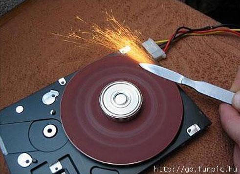 硬碟壞了的另類用處