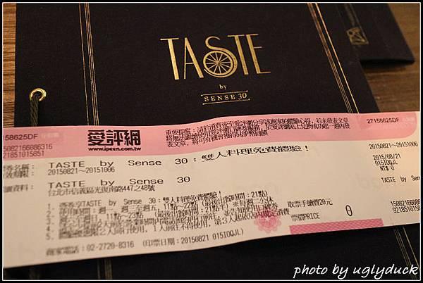 Taste by Sense 30