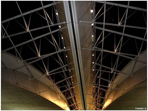 Paris-Charles機場的天花板