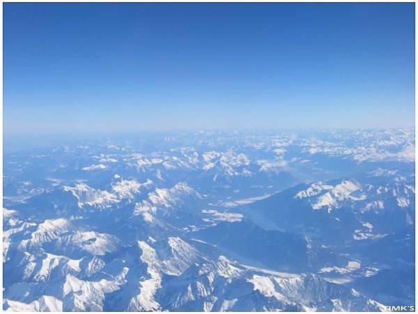 飛機上的世界