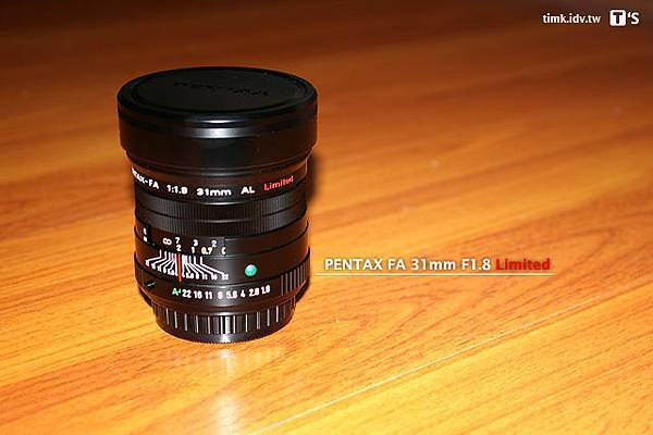 SMC P-FA 31mm F1.8 Limited