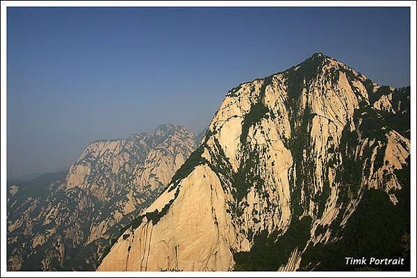 險峻的華山