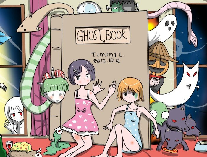 Ghost in book
