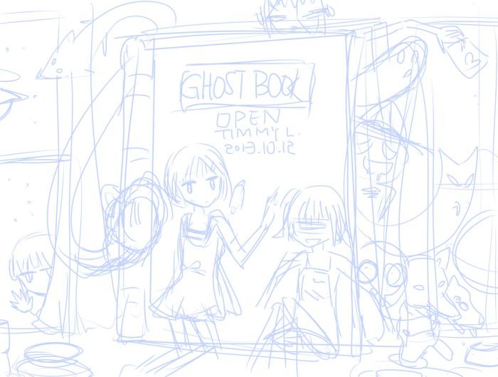 Ghost in book_D