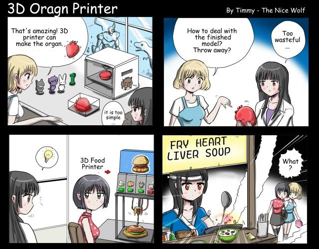 3D ogran printer
