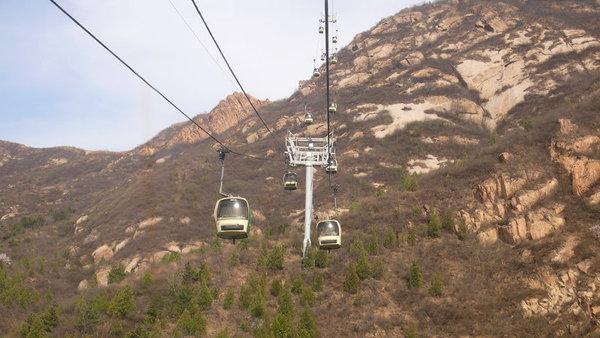 八達嶺 纜車