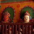 白居寺裡的佛像