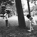 公園裡的小孩