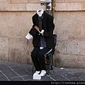 羅馬 街頭藝人