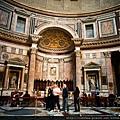 羅馬  萬神殿內