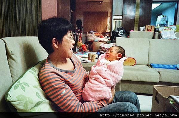 明侑與奶奶