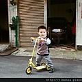 外婆家   學騎車
