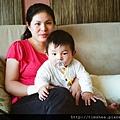 侑侑與媽媽