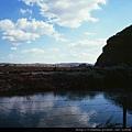 丹東  鴨綠江  一步跨