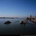 丹東  鴨綠江畔