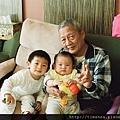 爺爺與孫子