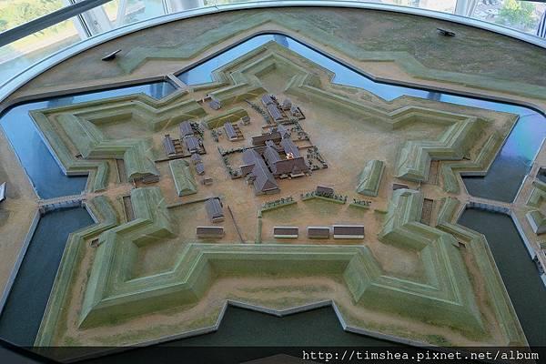函館 五稜郭 模型