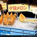 函館 朝市  賣哈密瓜攤