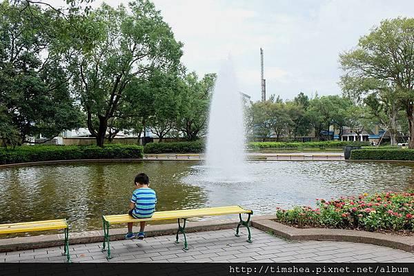 六福村 噴水池