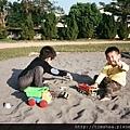 北斗國中 玩沙