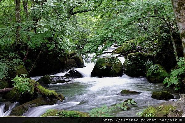 奧入瀨溪 阿修羅之流