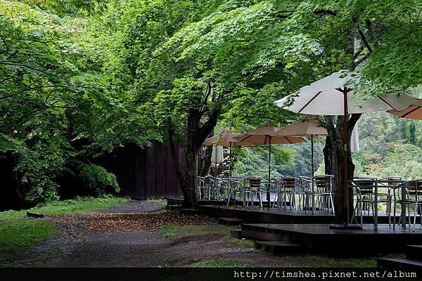奧入瀨溪流飯店 庭院