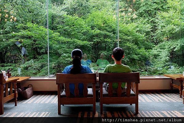 奧入瀨溪流飯店 中庭