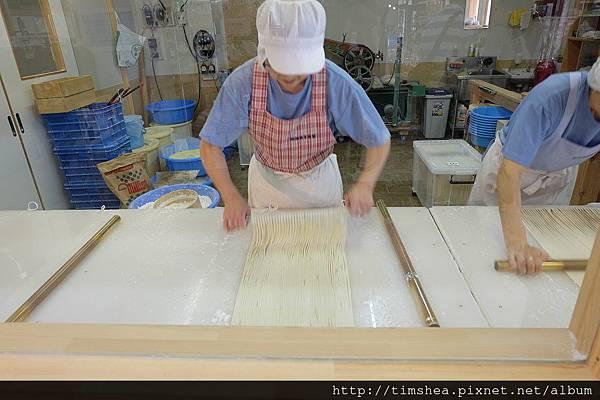師傅做蕎麥麵