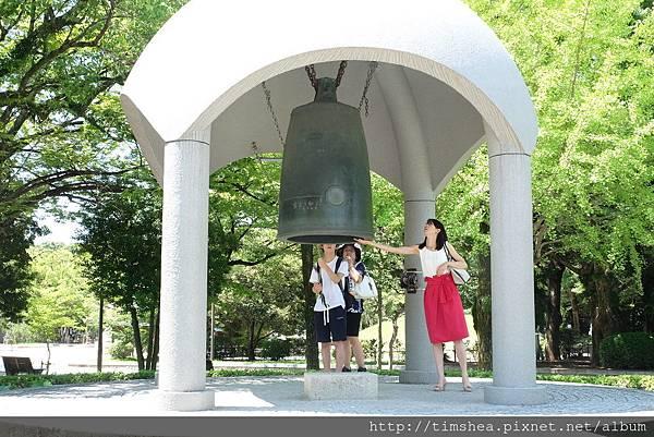廣島 原爆紀念公園 和平鐘