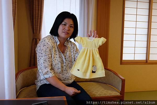 毛巾博物館帶回的紀念品
