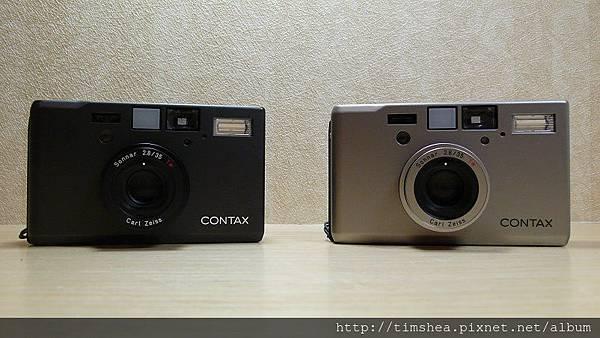 Contax T3 銀黑雙機