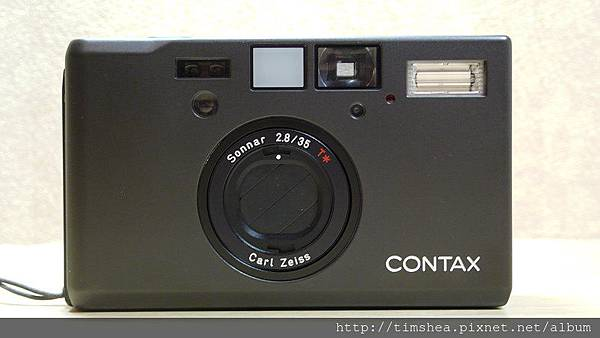 Contax T3 黑機