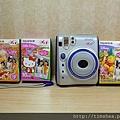 Fuji mini 55與各種底片