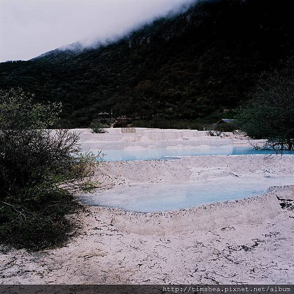 黃龍  五彩池