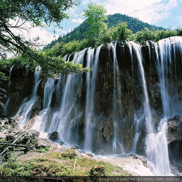 九寨溝  諾日朗瀑布