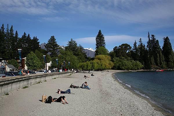 皇后鎮  碼頭邊沙灘