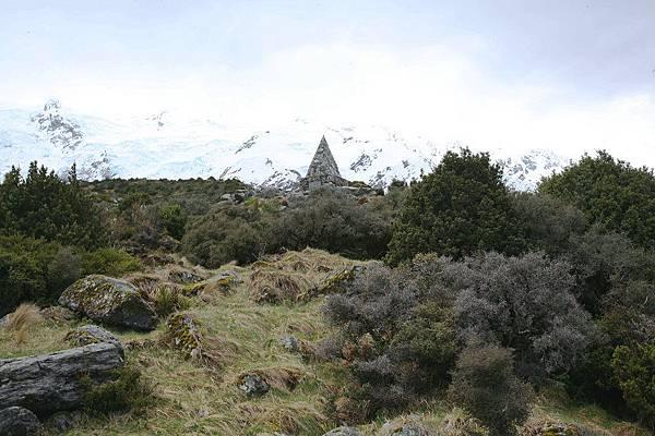 庫克山  紀念碑