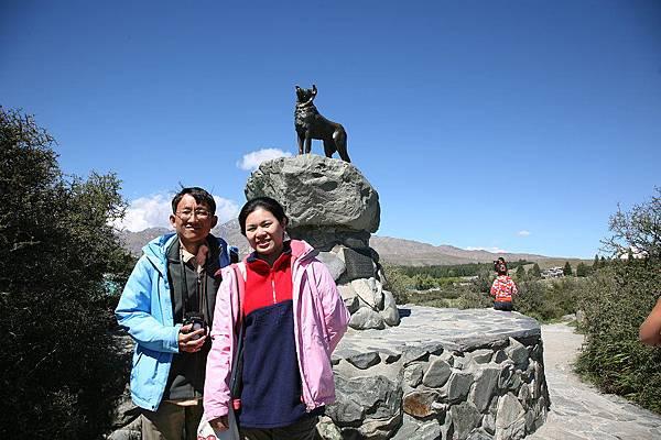 Tekapo 湖 紀念碑