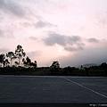 蘭陽平原的落日