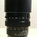 Leica M75/1.4